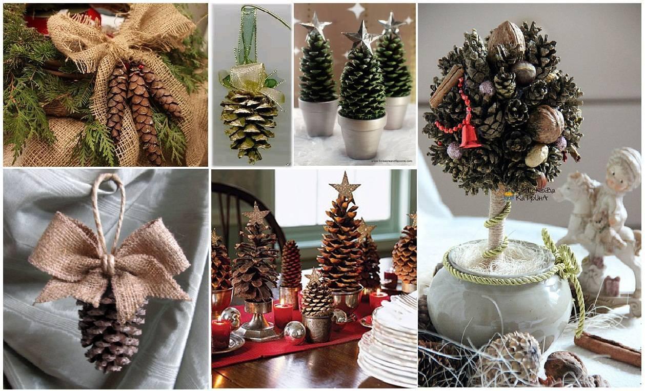 Как красиво украсить искусственную елку