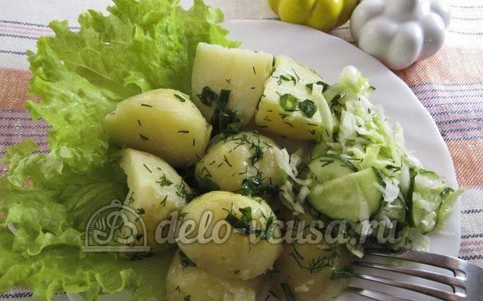 Блюда из молодой картошки