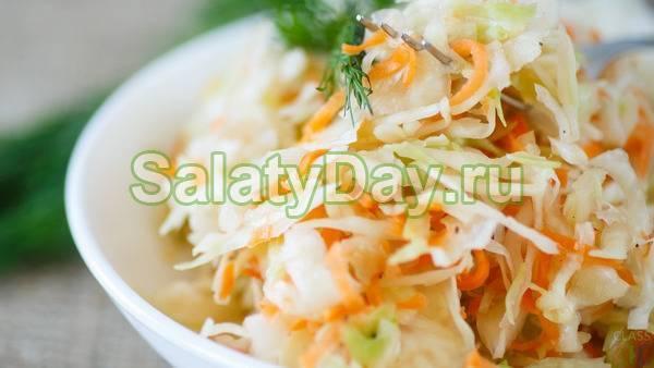 Рецепт острой маринованной капусты