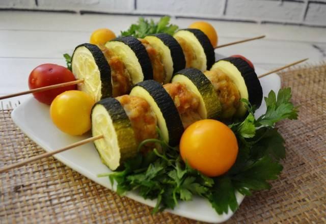 Рецепт из кабачков на ужин