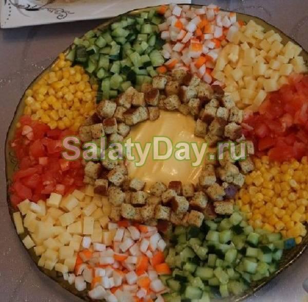 Салат с грядки