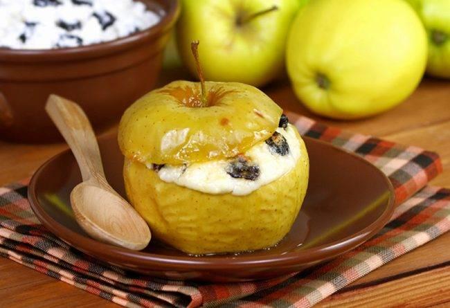 Яблоки в духовке на зиму