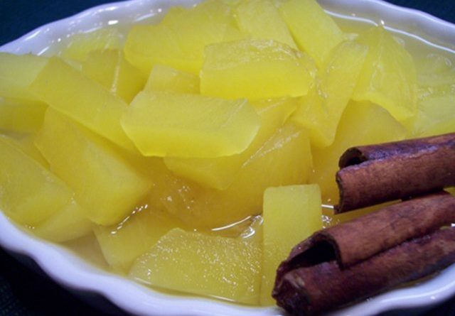 Рецепт маринованной тыквы на зиму