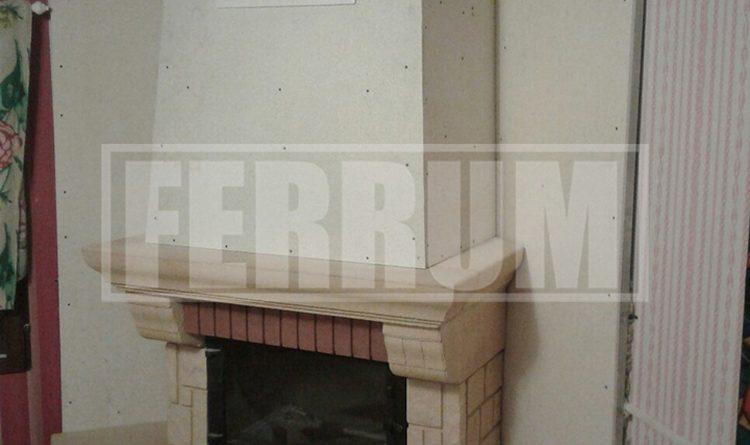 Печь в дачном доме фото
