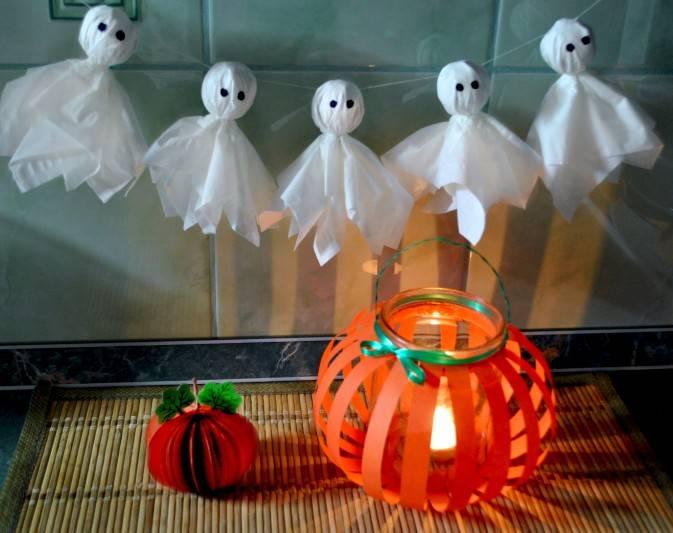 Поделки из бумаги на хэллоуин