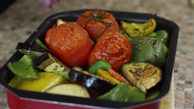 Овощные блюда в духовке