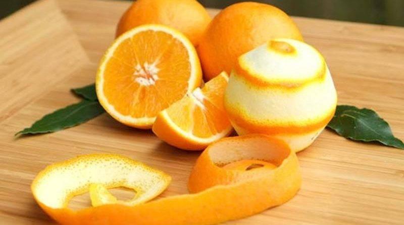 Апельсиновые корки применение