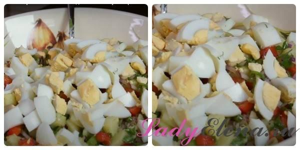Блюда из яиц и картофеля