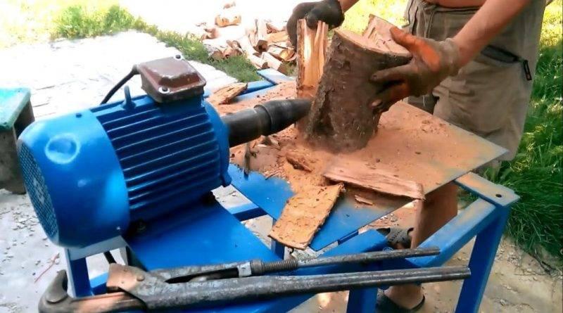 Как быстро наколоть дрова
