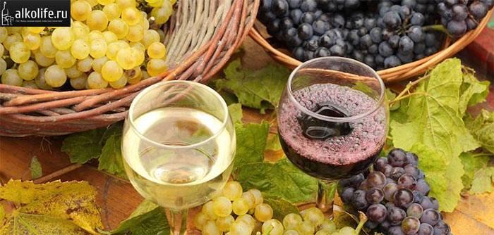 Рецепт домашнього вина з винограду