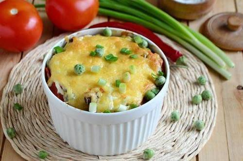 Печеные овощи в духовке рецепт с фото