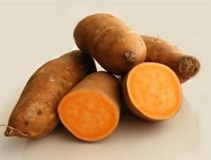 Оранжевая картошка