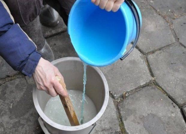 Медный купорос приготовление раствора