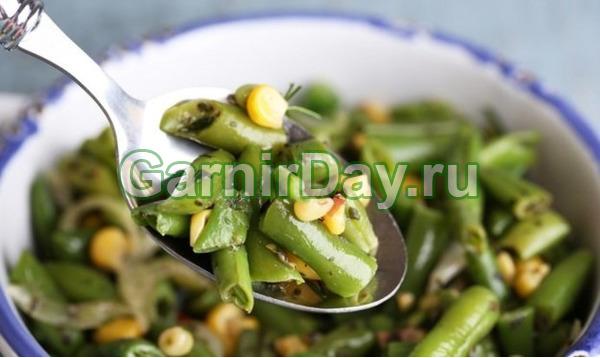 Приготовить зеленую фасоль рецепты