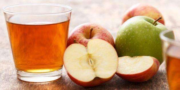Как приготовить сок из яблок