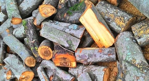 Ольха как дрова