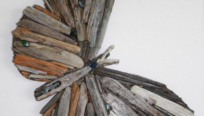 Как украсить ветку дерева