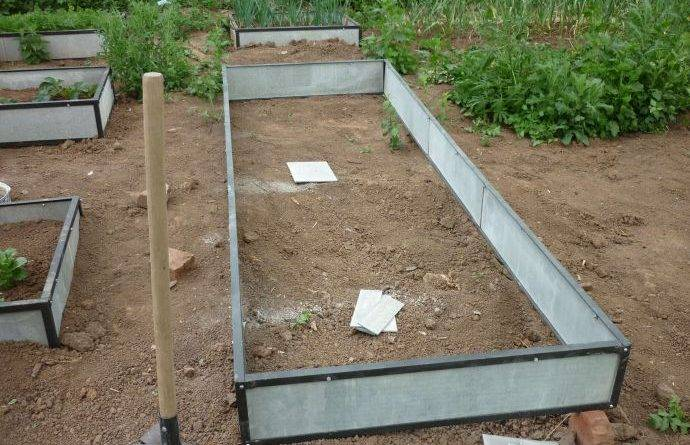Как правильно сделать грядки на огороде фото