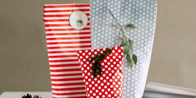 Как красиво запаковать подарок