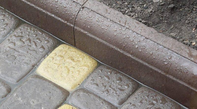 Как выложить дорожку из тротуарной плитки