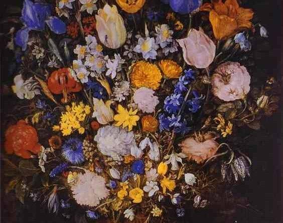 Картины художников цветы в вазе