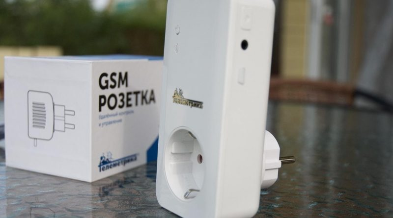 Gsm контроль электричества