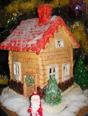 Рождественские домики картинки