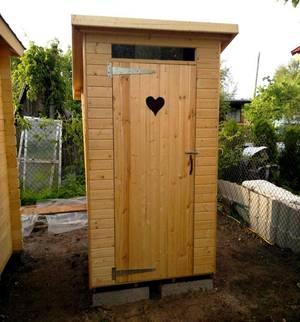 Надворный туалет