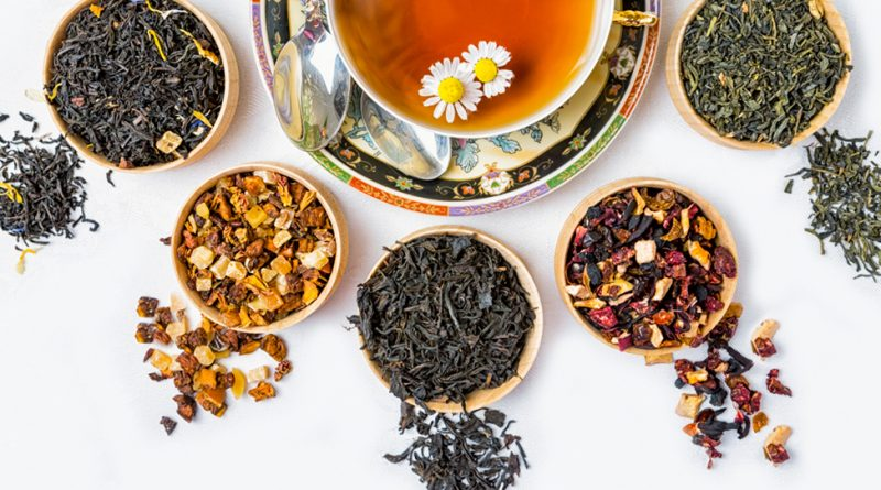 Состав травяных чаев