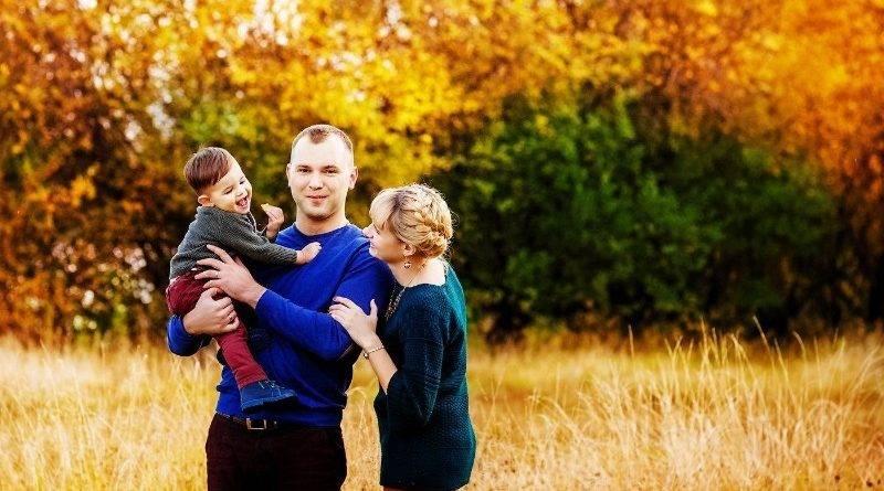 Осенняя фотосессия для детей